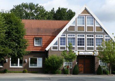 Hoteleingang vom Dreschhof