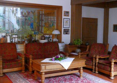 Dreschhof-Hotellobby